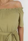 Zielona Sukienka Theamethe