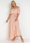 Łososiowa Sukienka Theamethe