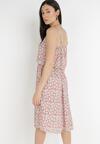 Różowa Sukienka Paphiphae