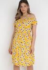Żółta Sukienka Syryse