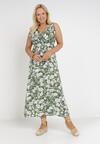 Zielona Sukienka Theamishae