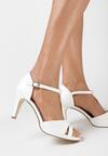 Białe Sandały Sagiphise