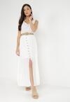 Biała Sukienka Cherinoe