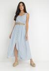 Jasnoniebieska Sukienka Cherinoe
