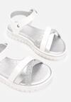 Białe Sandały Icelias