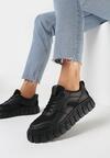 Czarne Sneakersy Peisis