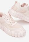 Różowe Sneakersy Peisis