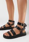 Czarne Sandały Propheseus