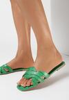 Zielone Klapki Nisetheus