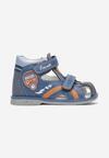 Niebieskie Sandały Azena