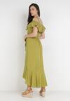 Zielona Sukienka Phlegistos