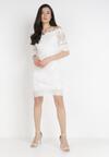 Biała Sukienka Philelaus