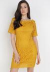 Żółta Sukienka Philelaus
