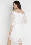 Biała Sukienka Ristyrtus