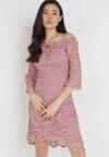 Ciemnoróżowa Sukienka Ristyrtus
