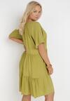 Zielona Sukienka Amphas