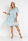 Jasnoniebieska Sukienka Amphas