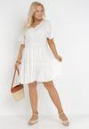 Biała Sukienka Amphas