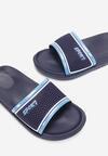 Granatowo-Niebieskie Klapki Iphitippus