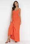 Pomarańczowa Sukienka Neamedora
