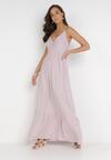 Liliowa Sukienka Neamedora