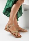 Beżowe Sandały Malinea