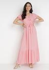 Różowa Sukienka Gyimanum