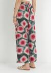 Zielono-Różowe Spodnie Elitea