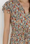 Beżowa Sukienka Parkea