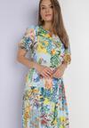 Niebieska Sukienka Laomemoni