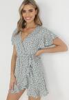 Niebieska Sukienka Asteriope
