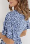 Niebieska Sukienka Adrerial