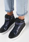 Czarne Sneakersy Jilevel