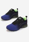 Niebiesko-Zielone Buty Sportowe Auruen