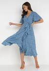 Niebieska Sukienka Rirra