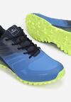 Granatowo-Zielone Buty Sportowe Yava