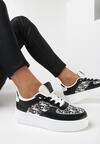 Czarne Sneakersy Callinos