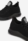 Czarne Buty Sportowe Himenophe