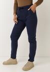 Granatowe Spodnie Kerrel