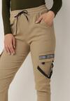 Beżowe Spodnie Bewetel