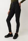 Czarne Spodnie Skinny Gloimon