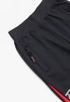 Granatowo-Czerwone Spodnie Orestrea