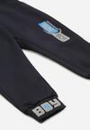 Granatowe Spodnie Thessameia