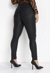Czarne Spodnie Slim Ambrules