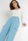 Jasnoniebieskie Spodnie Dresowe Xirys