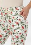 Białe Spodnie Azaernys