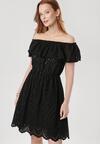 Czarna Sukienka Arrilan