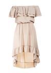 Beżowa Sukienka Pheromeia
