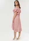 Różowa Sukienka Pheromeia