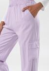 Jasnofioletowe Spodnie Molrope